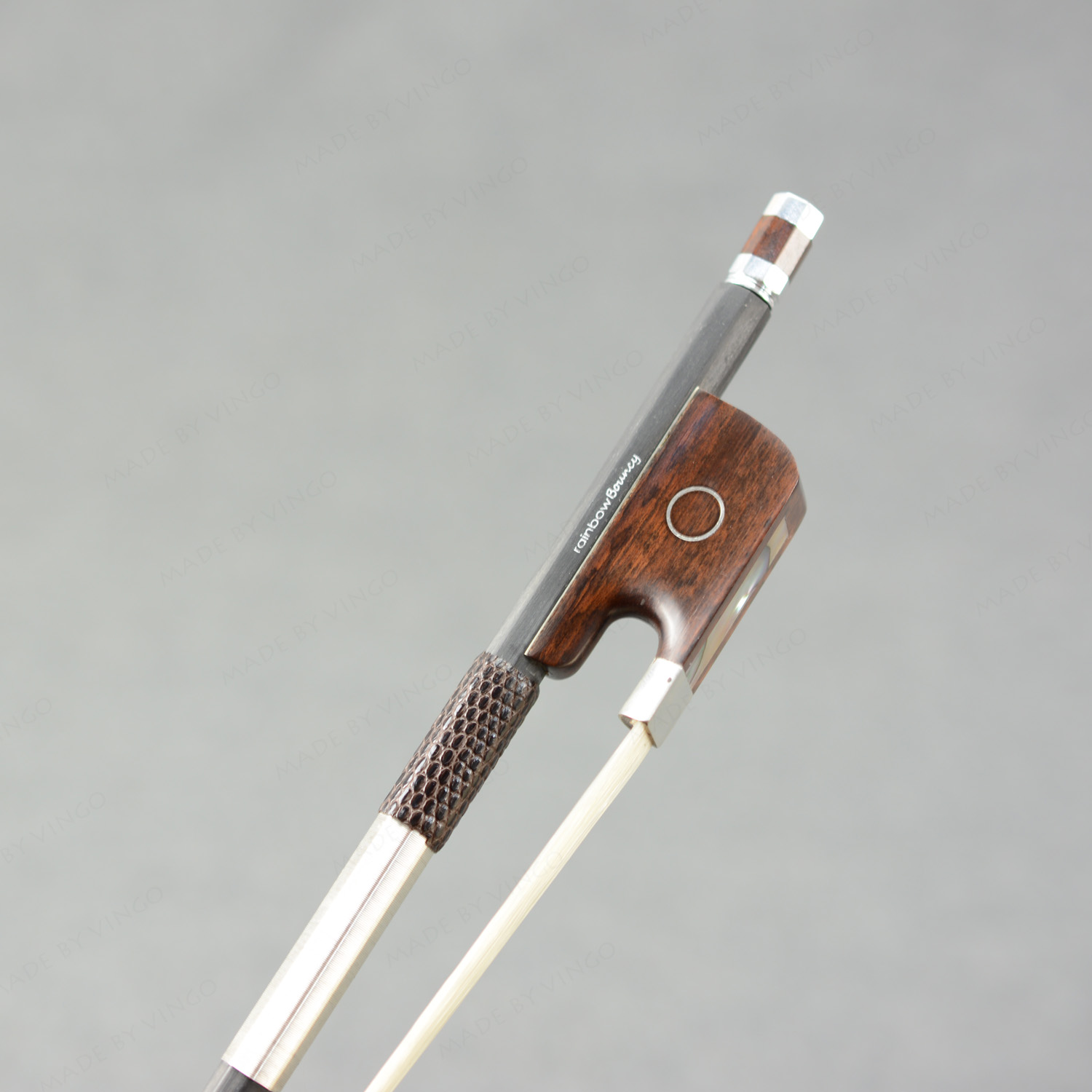 Master Carbon Fiber CELLO BOW Nice Snakewood Frog Straight Strong Great Balance And Flexibility