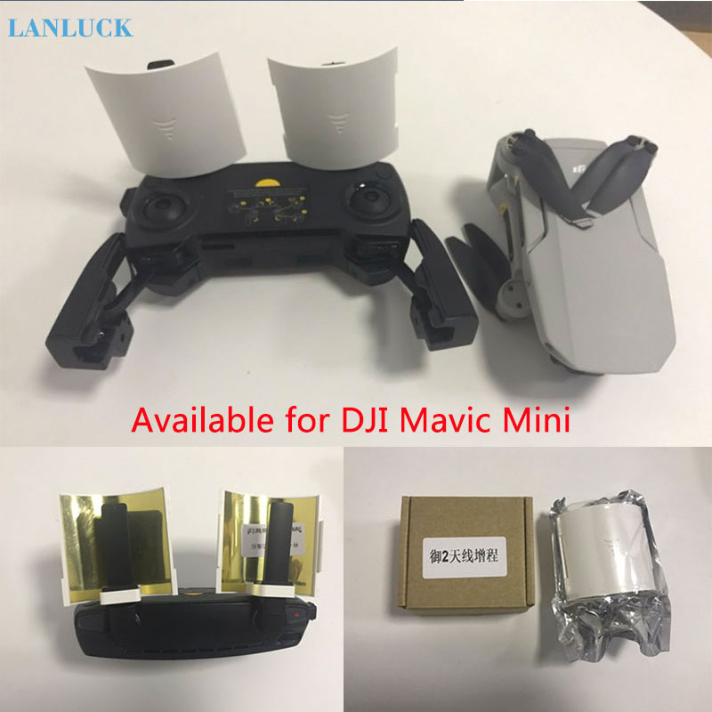 Remote Controller Signal Booster Antenna Amplifier Range Extender For DJI Mavic Mini 2 Zoom/pro Mavic Air Drone Accessories Part