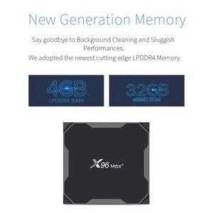 Image 5 - テレビボックスアンドロイド 9.0 × 96 最大セットトップボックス無線 Lan 、ブルートゥース Amlogic S905x3 8 18K スマートメディアプレイヤー 4 ギガバイト 32 ギガバイト/64 ギガバイト G10s I8 キーボード
