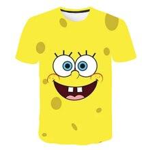 Boys Tops Clothing Camiseta T-Shirt Classic Print Girls Cartoons Children Summer 3D