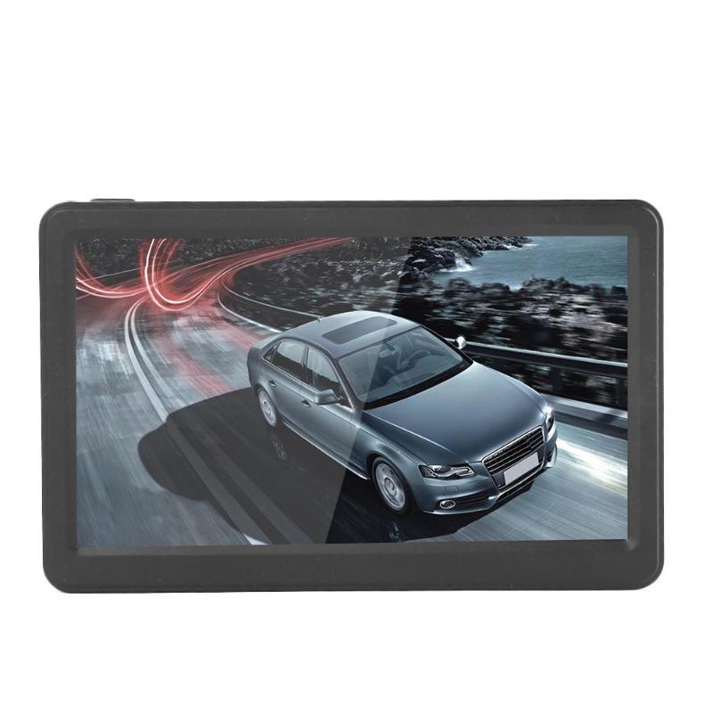 7 дюймов HD сенсорный экран Навигатор 256 МБ + 8 г Автомобильный gps навигатор FM передача MP4 плеер для Северной Америки/Европы/Австралии/России