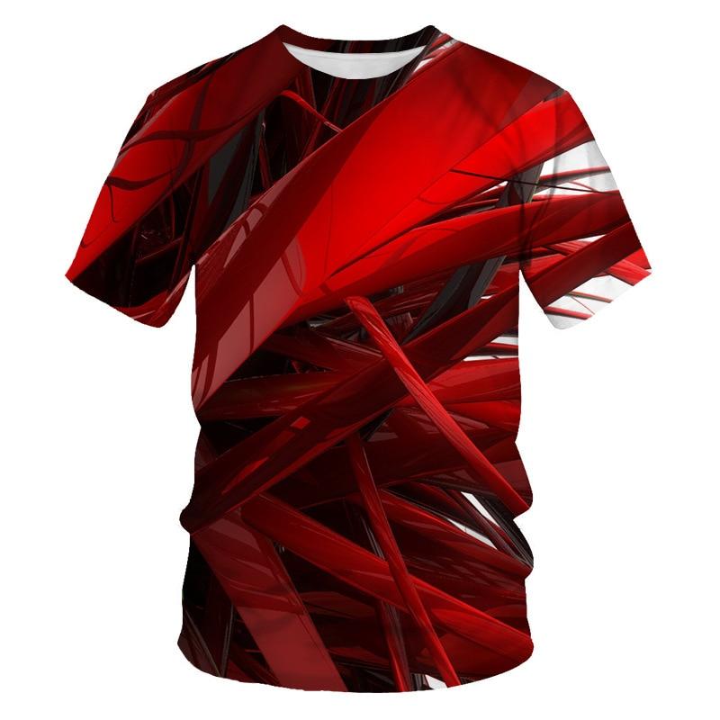 3D Print T Shirt Men 2019 Brand New Short Sleeve Tshirt Men Funny Harajuku Slim Fit T Shirts Hip Hop Streetwear Tee Shirt Homme
