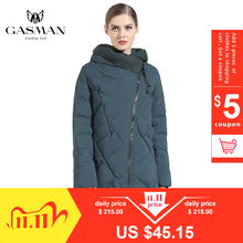 GASMAN 2019 New Winter Collection Fashion Thick Women Winter Bio Down Jackets Hooded Women Parkas Coats Brand Plus Size 6XL 702