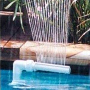 Image 3 - Yüzme havuzu aksesuarları şelale çeşme kiti PVC su püskürtme havuzu Spa süslemeleri yüzme havuzu aksesuarları çeşme tüpü kiti