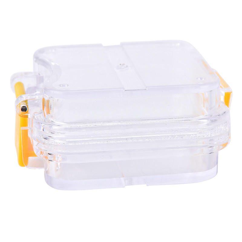 Storage Box With Hanging Net Container Artificial Tooth Organizer Transparent Tooth Box Denture Bath Box Case Dental False Teeth 5