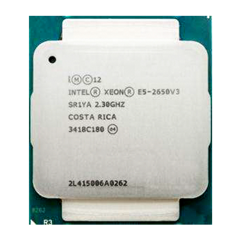 Intel <font><b>Xeon</b></font> <font><b>E5</b></font> <font><b>2650</b></font> <font><b>V3</b></font> Processor SR1YA 2.3Ghz 10 Core 105W Socket LGA 2011-3 CPU <font><b>E5</b></font> 2650V3 image
