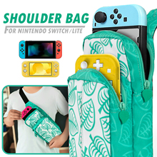 Nintendo Switch Lite Shoulder Bag Portable Inclined Durable Carrying Case Travel Water-Proof Bag for Switch Game Accessories