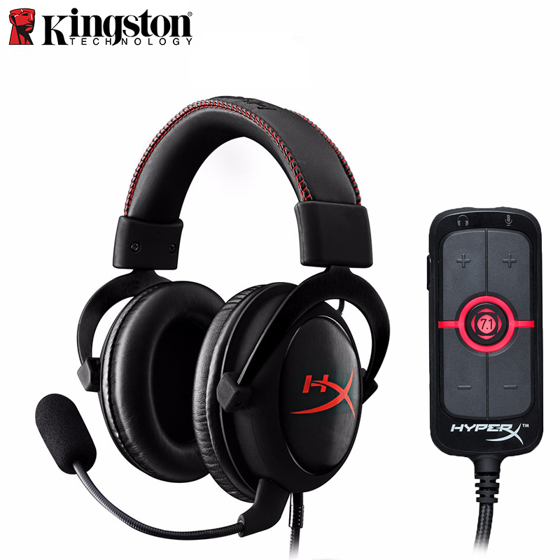Kingston HyperX Cloud Core Gaming Headset With A Microphone Professional Esport Headphones AMP7.1 Virtual Surround Sound