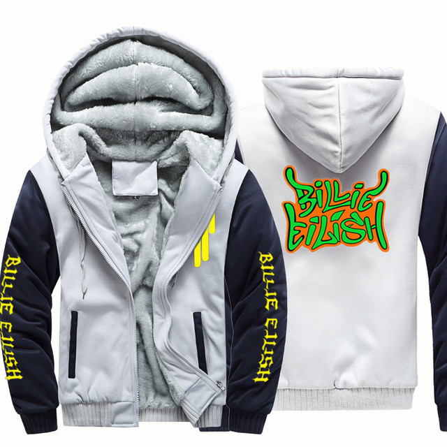 BILLIE EILISH ZIP UP HOODIE JACKET (8 VARIAN)