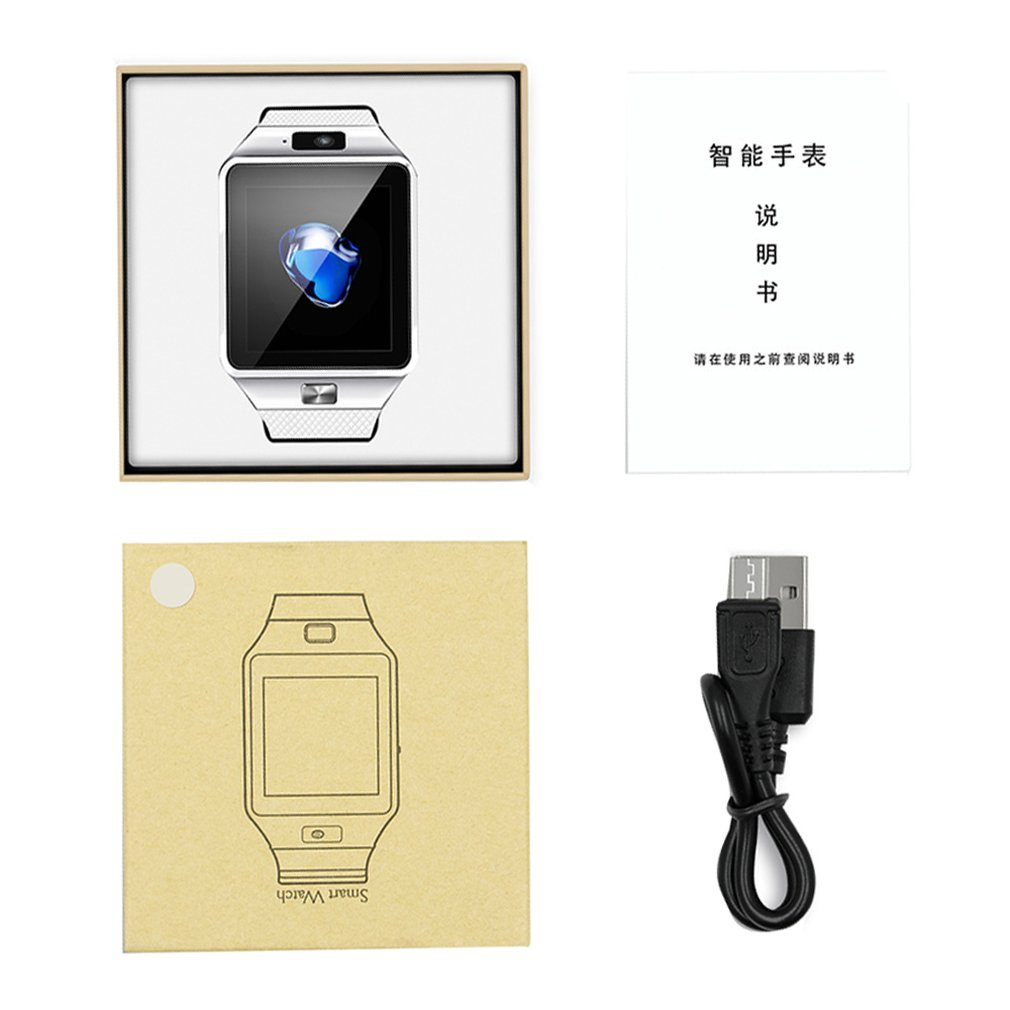DZ09 Bluetooth Smart Phone Watch Push Message Phone Call SIM TF Card Camera for iPhone for Samsung for HUAWEI Smartwatch