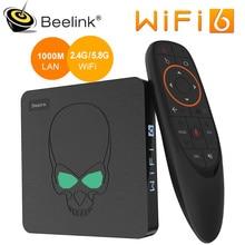 Beelink GT rey WiFi 6 TV BOX Android 9,0 Amlogic S922X Quad-core 4GB 64GB TVBOX BT4.1 1000M LAN Android decodificador