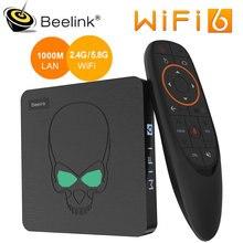 Beelink GT король Wi-Fi 6 ТВ BOX Android 9,0 Amlogic S922X Quad-core 4 Гб 64 Гб ТВ коробка BT4.1 1000M LAN Android ТВ комплект компьютерной приставки к телевизору