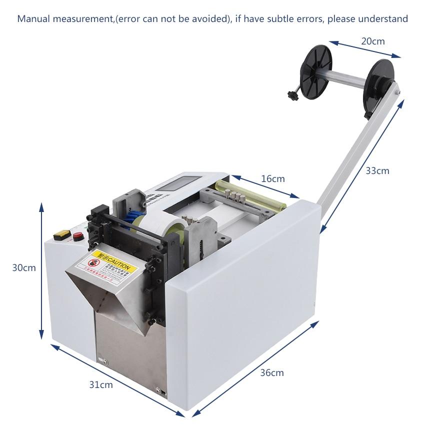 Neue Heiße HZX 100 Mikrocomputer Automatische Rohr Schneiden Maschine Wärme schrumpfschlauch PE Schlauch Schneiden Maschine 110V /220V 350W 0 100MM - 4