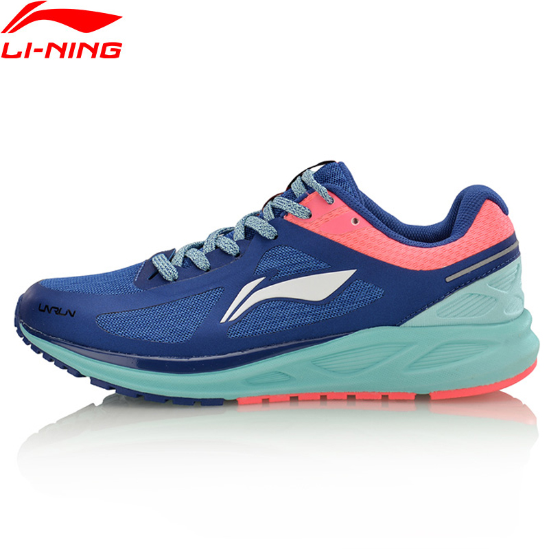 Li-Ning Women FLASH Light Weight Running Shoes Cushion Breathable LiNing Li Ning Sport Shoes Sneakers ARBM034 XYP556