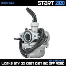 PZ19 19mm Aluminum Carburetor For Taotao KAYO BSE ORION SSR SDG Thumpstar 50cc 70cc 90cc 110cc Dirt Bike ATV Quad Go Karts