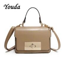 Youda 2019 New Fashion Sweet Casual Shoulder Bag Original Classic Retro Handbag Simple Literary Solid Color Crossbody Tote