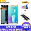 5.1' AMOLED for Samsung Galaxy S6 Edge G925 G925F G925A LCD Display Touch Screen Digitizer Monitor Assembly FOR S6 Edge Replace