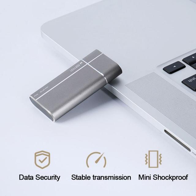 Stmagic mini External SSD Metal portable Solid State Drive 128GB 256GB 512GB USB3.1 Type-c Hard drive for PC Smartphone 5