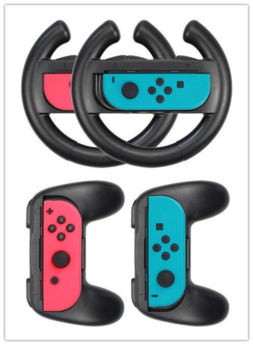 Nintendo Switch Handle Steering Wheel Set Nintendo Switch Grip Steering Wheel