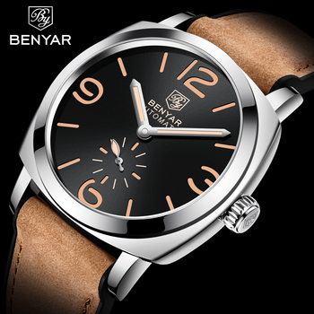 New BENYAR Top Brand Luxury Men's Automatic Mechanical Watches Mens Watches waterproof Men WristWatch Military Reloj Hombre 2020 haiqin men s mens watches top brand luxury watch men mechanical military waterproof wristwatch mens tourbillon reloj hombre 2019