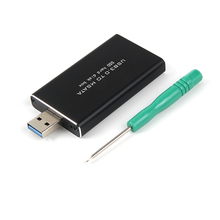 Enclosure MSATA Adapter-M2 SSD To USB HDD ASM1153E Usb-3.0 Mobile-Box Hard-Disk Usb3.0-To-Msata-Case