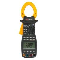 PEAKMETER Professional 3 Phase LCD Digital High Sensitivity Clamp Power Meter Factor Correction Data Log True RMS PM2203