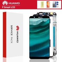 Orijinal 6.4 ''ekran değiştirme için çerçeve ile P40 Lite LCD dokunmatik ekran Digitizer meclisi için Huawei Nova 6 SE LCD