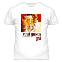 Vintage Schlitz cerveza Ad Real Gusto camiseta más tamaño y colores camiseta