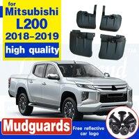 قالب رفرف الطين للسيارة MITSUBISHI L200 2018-2019 واقيات الطين رفرف الطين