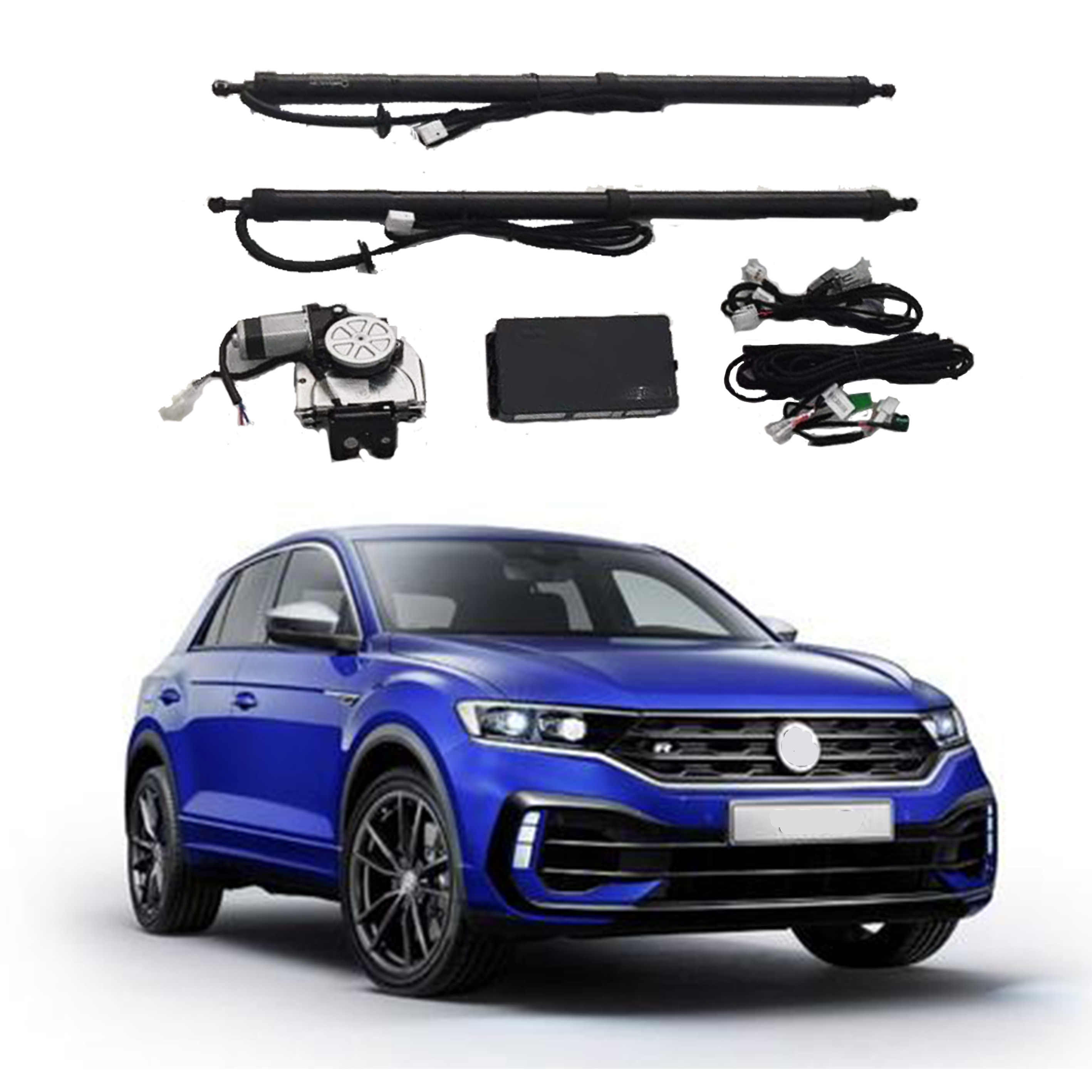 Electric Tailgate Lift For Volkswagen T Roc Auto Tail Gate Intelligent Power Trunk Tailgate Lift Car Accessories Trunk Lids Parts Aliexpress