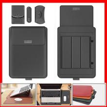 Чехол-подставка из ПУ для Macbook Pro 13 A2289, новый чехол 2020 Air 13 Pro 16 11 12 13 14 15, мягкая сумка-чехол для ноутбука Matebook 14