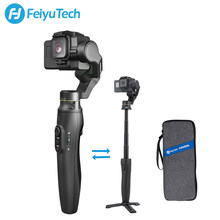 FeiyuTech Feiyu Vimble 2A Camera Gimbal Handheld Stabilizer with 180mm Extension Pole for Gopro Hero 5 6 7 Action Camera