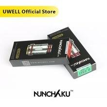 Uwell 4 Stks/pak Nunchaku Coil UN2 Mesh Spoel 0.14/0.2/0.25/0.4 Ohm Voor Nunchaku Tank Nunchaku 2 Tank