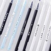 Golden  bean  Xueba  gel  neutral  pen  character  black 0.5mm  student personal Office  supplies  Manager stationery eyepiece