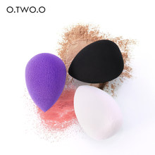 O. Tw O.o Makeup Tools Spons Foundation Cosmetische Puff Spons Water Cosmetische Blending Poeder Glad Make Up Spons 3 Kleuren(China)