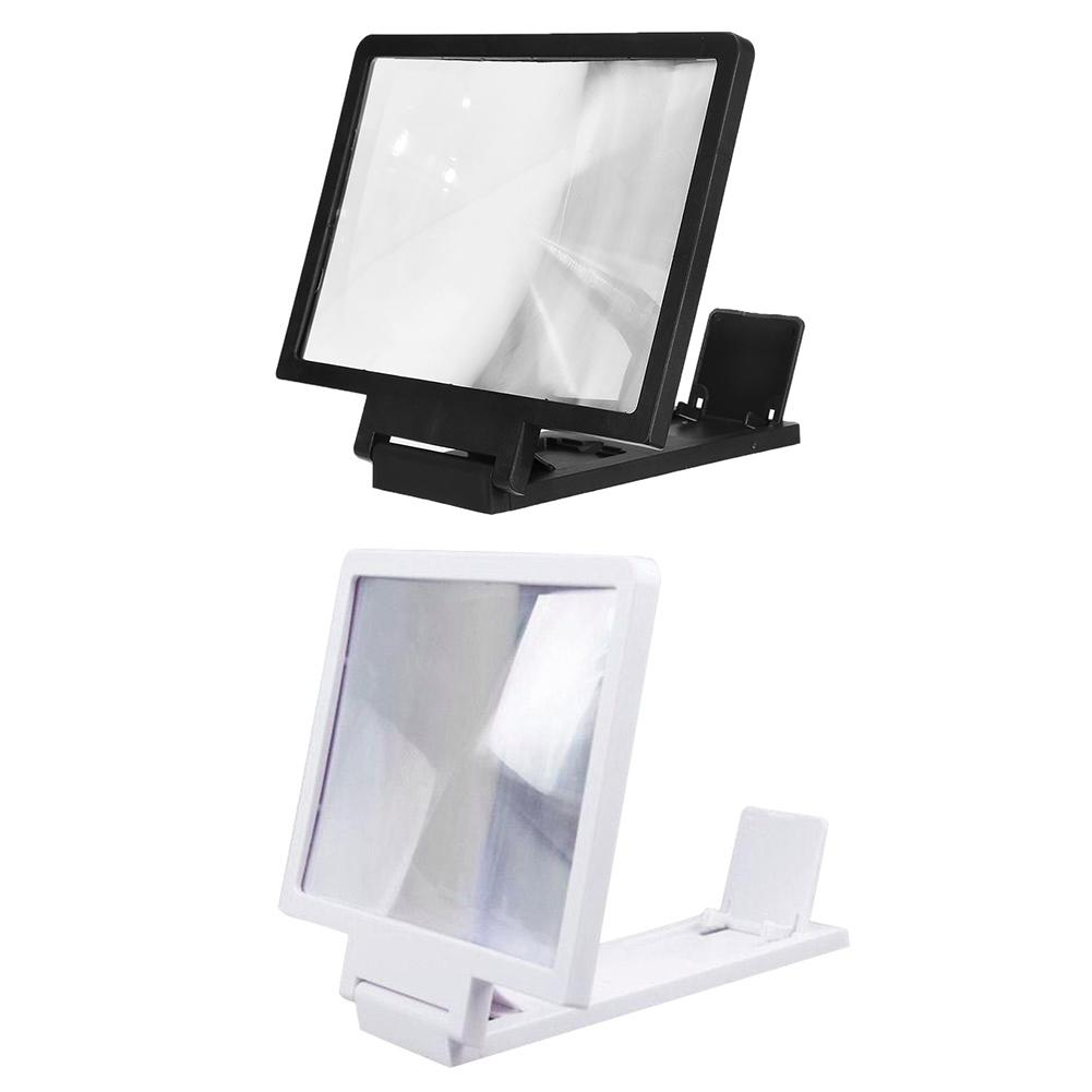 Mini New Mobile Phone Screen Magnifier 3D Video HD Large-Screen Speaker Amplifier Stand Bracket Video Clearer Phone Accessories