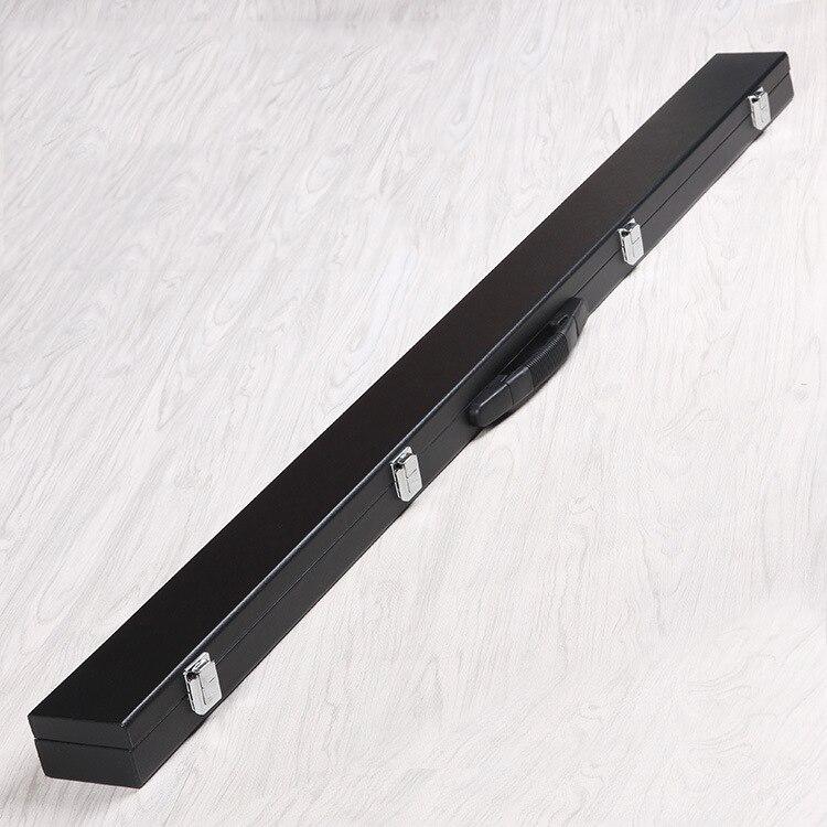 Акция дешевая цена кожаный деревянный чехол для снукера кия, 3/4 шт бильярдный кий коробка Вмещает 1 вал и 1 приклад