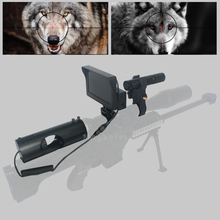 Outdoor Hunting optics monocular Tactical digital Laser Infrared night vision telescope binoculars with IR For Sight