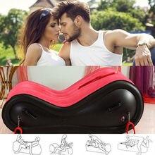 BDSM Aufblasbare Sex Sofa Bett Sexuelle Position Pad Erwachsene Spielzeug Sex Möbel für Paare Sex Kissen Kissen Stuhl Erotische Spielzeug