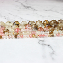 Linxiang Natural Colored Watermelon Crystal Beads DIY Fashion Accessory Hand