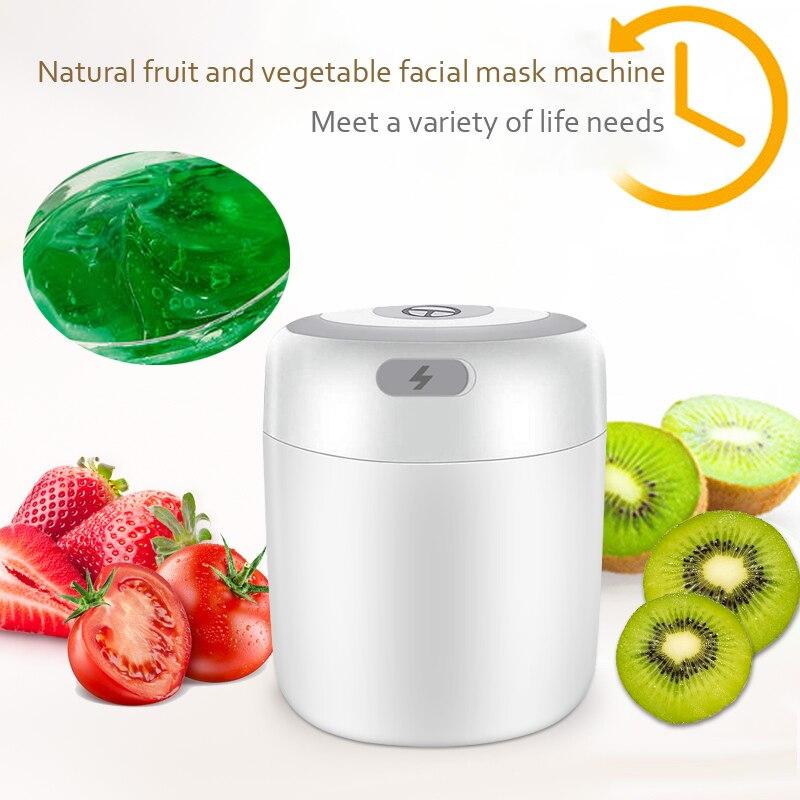 2 in 1 Home Facial Mask Machine Facial Cream Making Machine DIY Fruit and Vegetable Facial Mask Pure Natural Facial Mask Cream