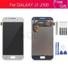 Digitalizador de pantalla táctil LCD para Samsung GALAXY J1 J100 J100H J100F SM J100F, piezas de reparación para Samsung GALAXY J1