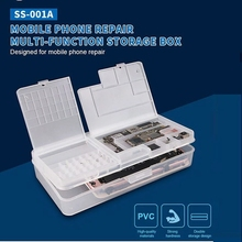 Multi-Function Magic Box Mobile Phone Repair Accessories Storage Double Layer Classification Parts Electronics Repair Toolbox
