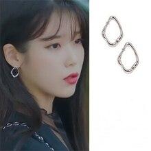 earring for women DEL LUNA Hotel same IU Fashion personality Eardrop Elegant For Women Earrings pendientes brincos ornament