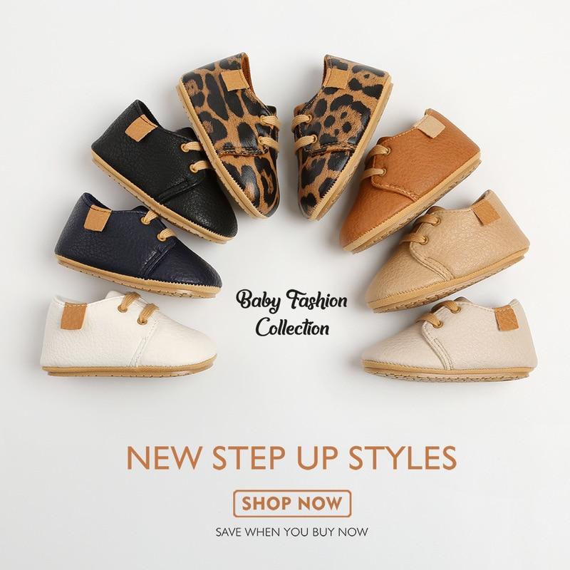 Кожаные Мокасины для новорожденных, Нескользящие, разноцветная обувь в стиле ретро для начинающих ходить мальчиков и девочек, резиновая подошва 1