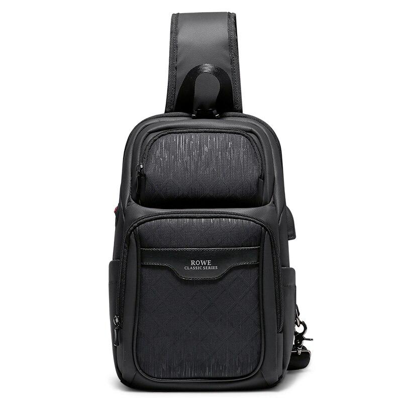 FRN 2020 New Multifunction Crossbody Bag for Men Anti-theft Shoulder Messenger Bags Male Waterproof Short Trip Chest Bag Pack