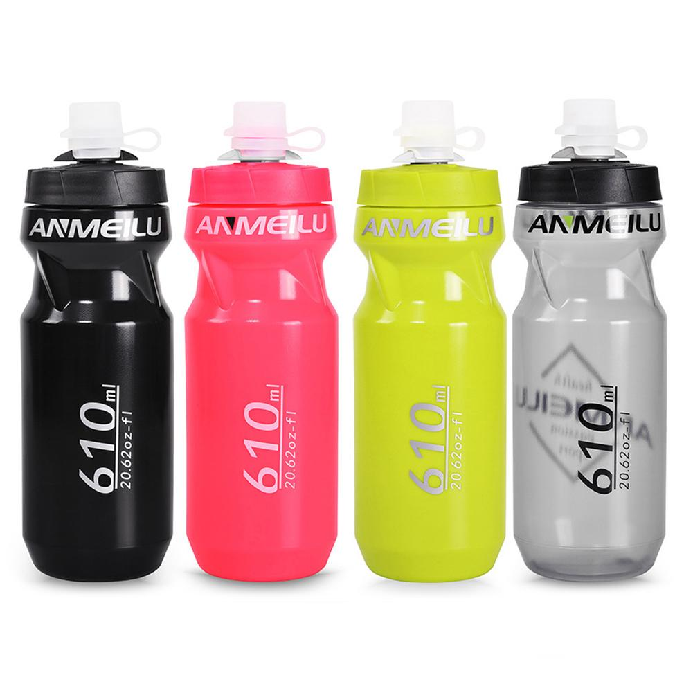Outdoor Ultralight 710 610ml Portable Squeeze Water Bottle Water Bottle Equipment For Bicycle Mountain Bike Road Bike Riding