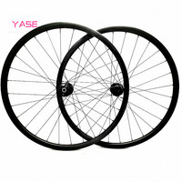 YASE 27.5er mtb disc carbon wheels 30x28mm symmetry tubeless bicycle carbon wheel FASTace DA201 100x9 135x9 carbon wheelset