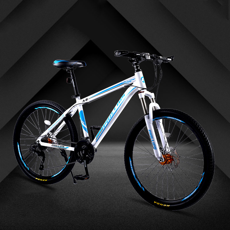 Mountain Bike 26 Inch 24 Speed Adult Double Disc Brake Shock Absorber Men And Women Bicycle Student Cool