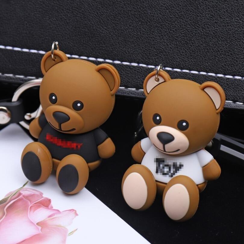 小熊卡通钥匙扣2